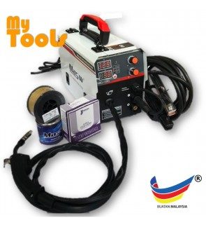 Mytools MIG168 Gas-Less MIG & ARC 2 In 1 Welding Set (Made In Malaysia)