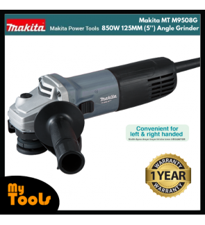 Makita MT M9508G 850W 125MM (5'') Angle Grinder + 12 Months Makita Original Warranty