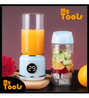 Mytools USB Power Bank Juice Blender Cup Glass Bottle Fruit Squeezer Extractors