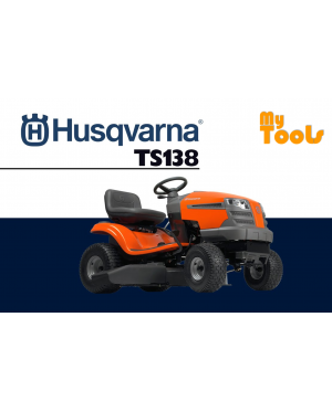 HUSQVARNA TS138 AUTO RIDING MOVER (MADE IN SWEEDEN)