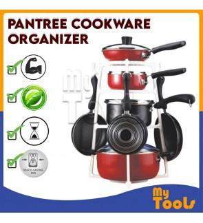 Mytools Pan Tree Pantree Cookware Organizer Pan Hanger