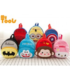 Mytools Baby Kids School Cute Plush Bags 3D Fluffy Backpack