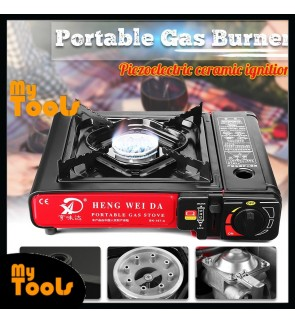 Mytools Portable Outdoor Picnic Gas Stove Cooking Windproof Burner Steamboat