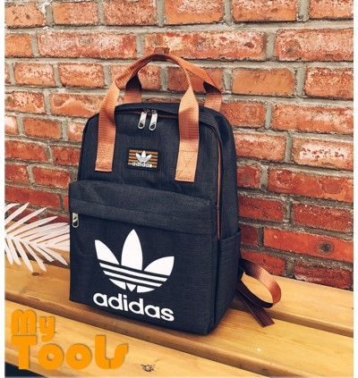 Adidas Stylish Canvas Sport Travel School Backpack Bag