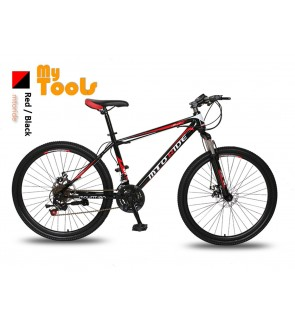"MyTools 26"" Wheels Sport Mountain Bike 7 Plates 21 Speeds Change Road MTB Bicycle"