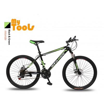 "MyTools 26"" Wheels Sport Mountain Bike 7 Plates 21 Speeds Change Road MTB Bicycle"