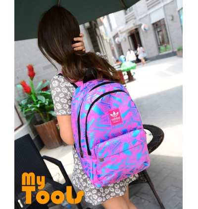 Adidas Stylish Graphic Fashion Sport Travel School Backpack Bag