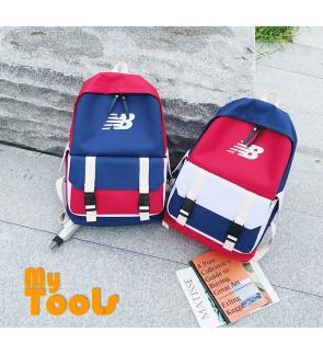 New Balances Laptop Sport Travel School Backpack Bag