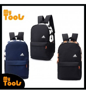 [READY STOCK] Adidas Stylish Big Words Fashion Sport Travel School Backpack Bag