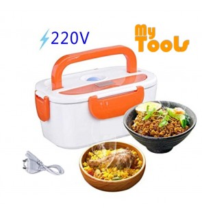 Mytools Electric Portable Lunch Box Food Container Warmer Cooker Heating Steamer Heater