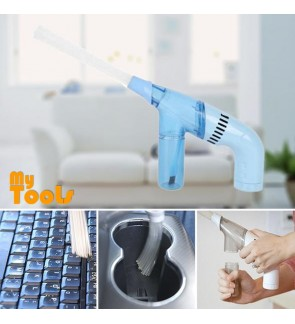 Mytools My Lil Duster Brush Cleaner Dirt Remover Portable Handheld Vacuum Cleaner