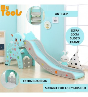 Mytools Premium Deer Children Upgrade Slide Indoor Outdoor Kids Playground Foldable