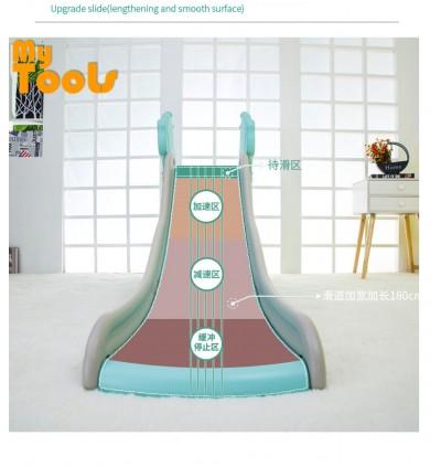 Mytools Premium Deer Children Upgrade Slide Indoor Outdoor Kids Playground Foldable