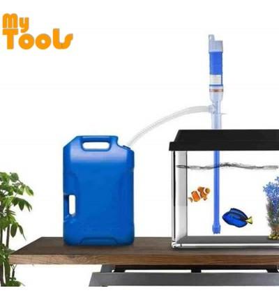 Mytools Liquid Transfer Siphon Pump Hand Gas Oil Water Fish Tank Fuel Battery Power Aquarium