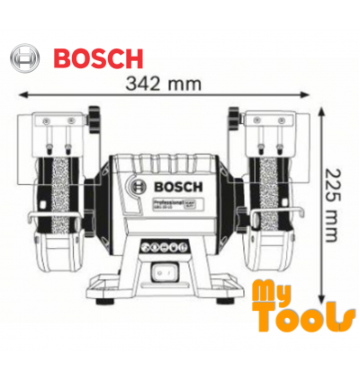Bosch GBG 35-15 Double-Wheeled Bench Grinder