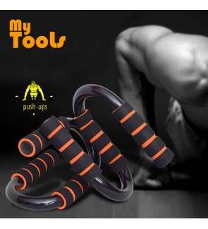 Mytools 2PCS S Type Push Up Frame Pushup Stand Exercise Tool Gym Workout Muscle Training
