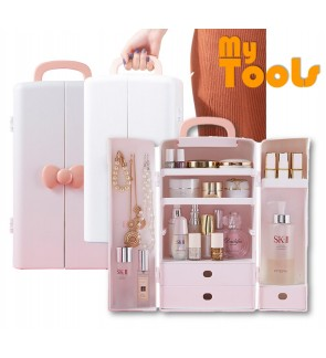 Mytools Portable Multipurpose Make Up Cosmetics Jewelry Storage Box Organizer