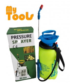 5 Litre Manual Pressure Sprayer Pump Spray Chemical Weed Killer Water Plants Garden