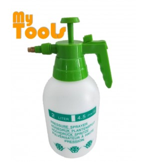 2 Litre Manual Pressure Sprayer Pump Spray Chemical Weed Killer Water Plants Garden