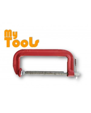 """Heavy Duty G Clamp 4"""" (100mm) with T-Handle"""