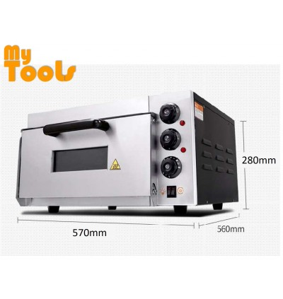 Mytools 2300W Commercial Infrared Electric Oven 1 Deck