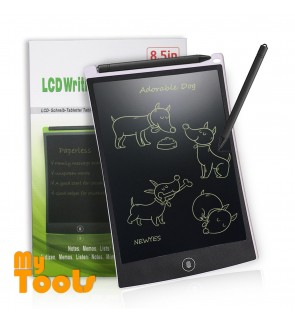 Mytools 8.5inch LED Tablet Portable Electronic LCD Writing Kids Graphics Drawing Pad