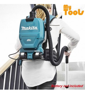 Makita DVC260Z Cordless Backpack Vacuum Cleaner 18Vx2