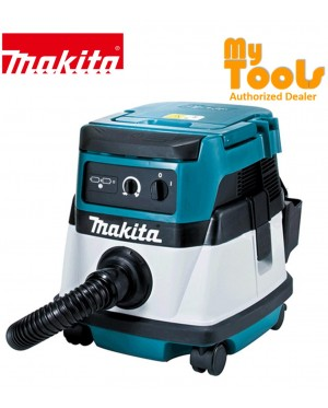 MAKITA DVC860LZ CORDED & CORDLESS VACUUM CLEANER (WET&DRY) (LXT SERIES) With battery and cha