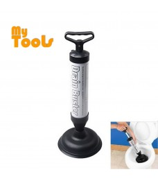 Mytools Drain Buster Durable and High Quality High Pressure Hand Power Toilet Plug Sink Plunger Tool Cleaner