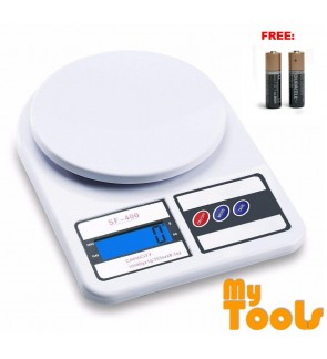 Mytools 10kg Digital LCD Electronic Weighing Scales Postal Parcel Kitchen Tools FOC: Battery