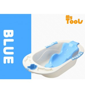 Mytools Baby Bath Tub Bathtub Anti Slip With Support Seat