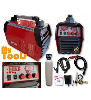 Mytools MIG215G MIG, ARC, Stainless Steels, Aluminium 5 in 1 Welding Set Machine Newest Tech