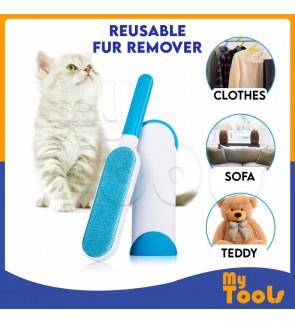 Portable Hurricane Fur Wizard Pet Lint Remover Dust Pillow Sofa Cleaner