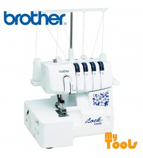 Brother 1334D - 2-Needles with 2/3/4 Threads Overlocker Machine