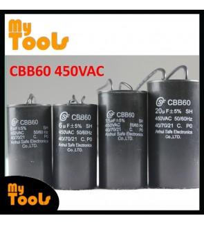 CBB60 Motor Fan Run Capacitor Condenser 450VAC 50/60Hz
