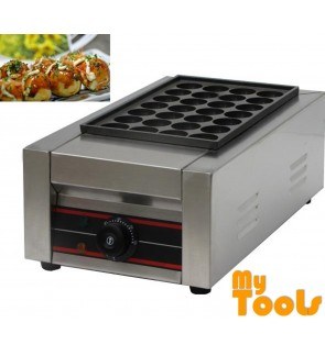 Mytools Takoyaki Machine Electric Single plate 28 Hole Meatball Shrimp Maker Machine Fish balls Maker