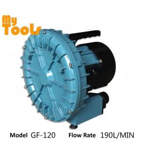 RESUN GF-120 120W 190L/min Electric Air Ring Blower Aquarium Seafood Compressor Pond Aerator Pump