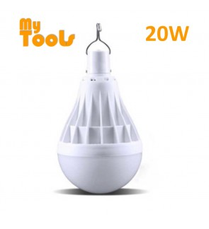 Mytools 20W Rechargeable USB LED Bulb Emergency Light Lamp Ultra Bright