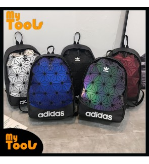 Mytools Adidas Diamond 3D Iseey Miyake Laptop Travel Outdoor Bags School Student Bag