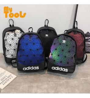 Mytools Adidas Diamond Shape Stylish Fashion Sport Travel School Backpack Bag