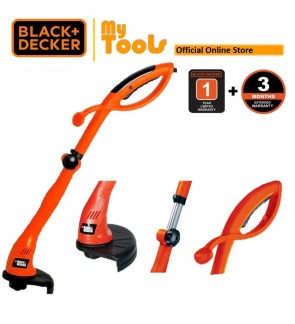 BLACK + DECKER GL300 Grass Trimmer 300W Brush Cutter (Mesin Rumput)
