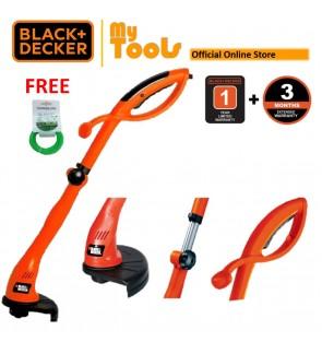 BLACK + DECKER GL300 Grass Trimmer 300W Brush Cutter (Mesin Rumput) FOC Trimmer Line