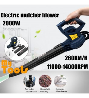 Mytools 2000W Electric Portable Electric Air Blower Blowing Dust Leaf Machine