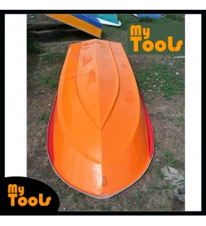 Mytools 12 Feet 3 Layer Fibre Boat Semi Round Shape (Random Color)