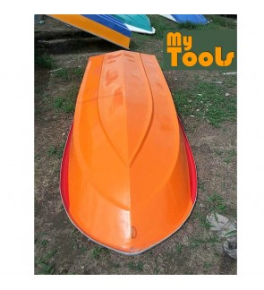 Mytools 12 Feet 3 Layer Fibre Fiber Boat Semi Round Shape (Random Color)