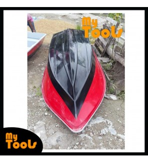 Mytools 14 Feet 3 Layer Fibre Boat Semi Round Shape (Random Color)