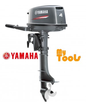 Yamaha 4DMHS 2 Stroke 4hp Short Shaft Petrol Engine Outboard (Made In Japan)