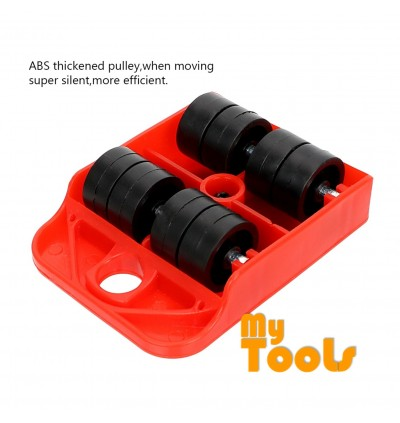 Mytools 5Pcs Furniture Transport Roller Set Removal Lifting Moving Tool Heavy Move House