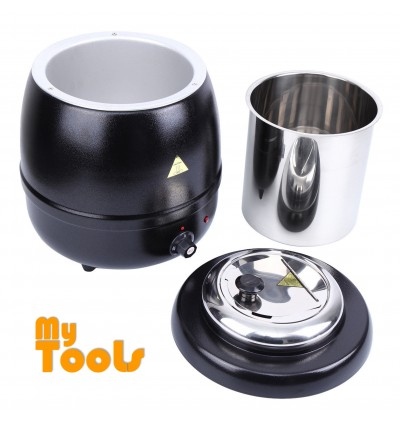 Mytools Commercial Electric Soup Kettle / Soup Warmer 10 Liter