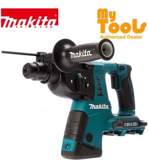 Makita DHR263RF4 Cordless Combination Hammer 18Vx2 LXT (1x Rapid Charger + 4x 3.0ah Battery)